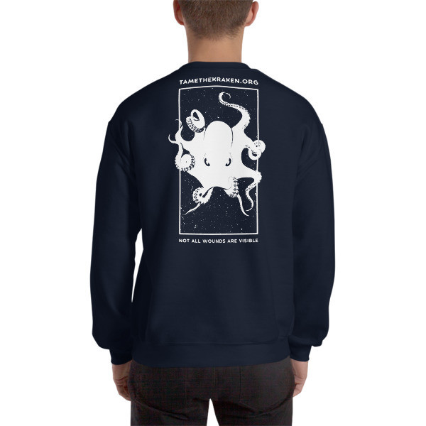 Invisible Wounds Sweatshirt (Dark)