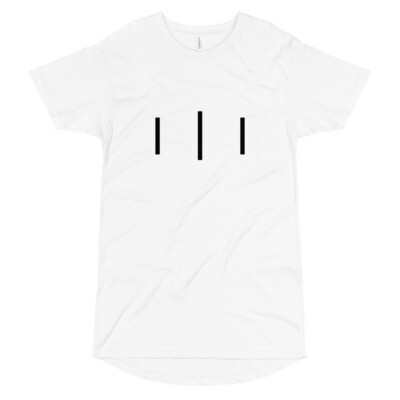 III Simple Logo - Long Body Urban Tee