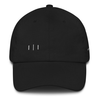 III Simple Logo - Signature 3rd Lion - Dad hat