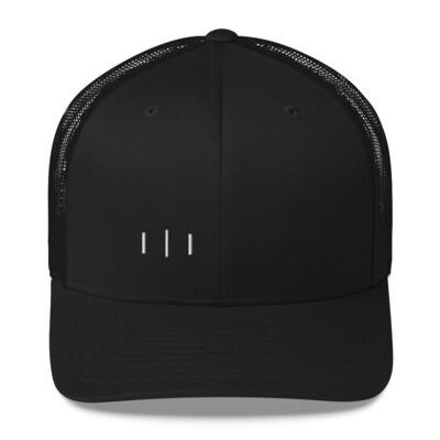 III Simple Logo 3rd Lion - Trucker Cap