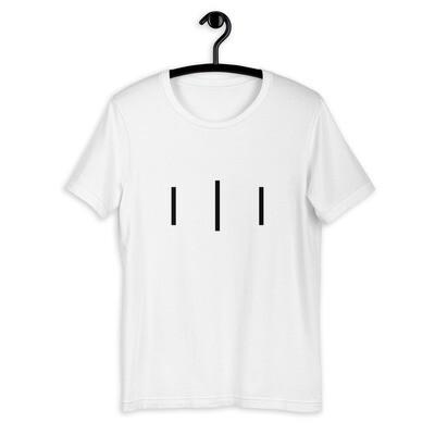III Trinity Logo - 3rd Lion - Short-Sleeve Unisex T-Shirt