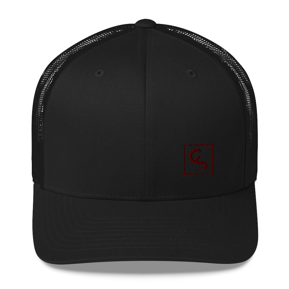CS - Red Icon - Trucker Cap