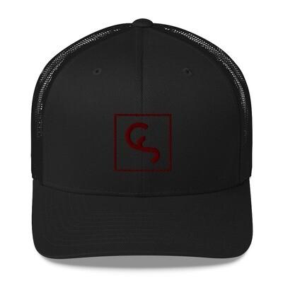CS Red Logo Big - Trucker Cap
