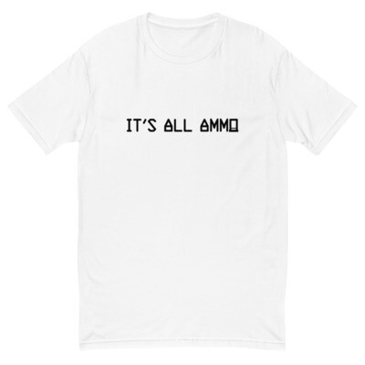 It's All Ammo - 3rd Lion - White - Short Sleeve T-shirt