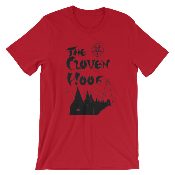 """The Cloven Hoof"" Short-Sleeve Unisex T-Shirt"