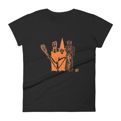 Anton LaVey's Original Drawing Halloween Ghouls Women's T-Shirt