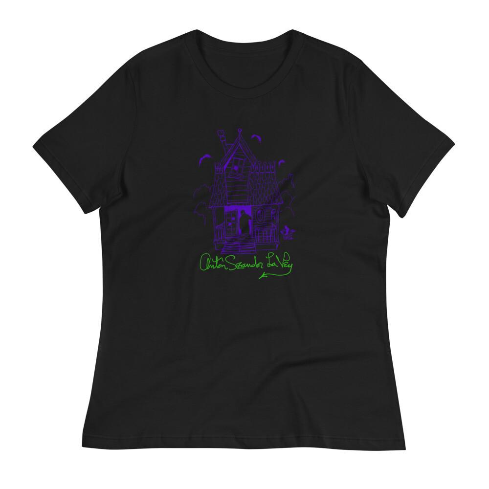 Women's Anton LaVey Haunted House Shirt