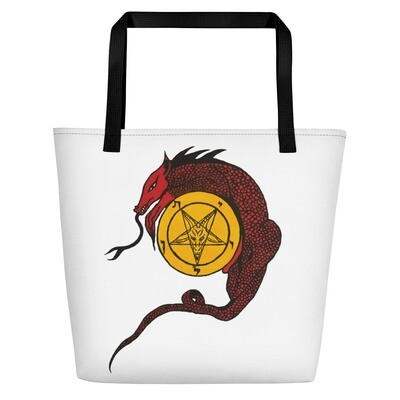 Baphomet X Leviathan Bag Church of Satan Satanism Anton LaVey Occult Witchcraft
