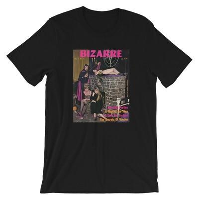 Baphomet X Church of Satan Bizarre Magazine Cover Short-Sleeve T-Shirt Anton LaVey Satanic