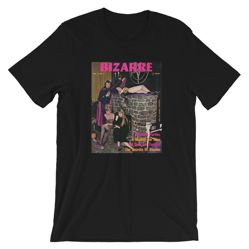 Baphomet X Church of Satan Bizarre Magazine Cover T-Shirt