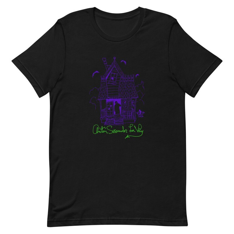 Anton LaVey Haunted House T-Shirt