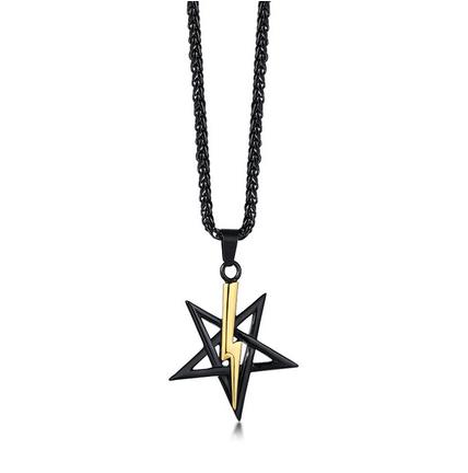 Anton LaVey Black Power Symbol Medallion