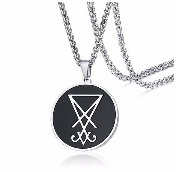 Lucifer Sigil Medallion