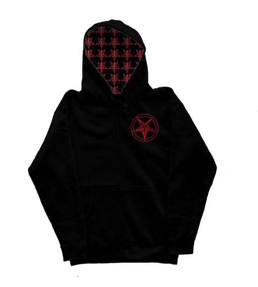 Ordo Satanas Power Symbol Baphomet Hoodie