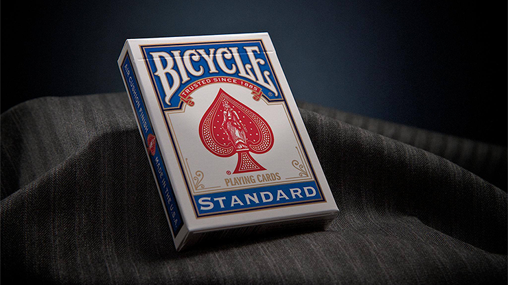 Bicycle Rider Backs - Blue Practice Deck