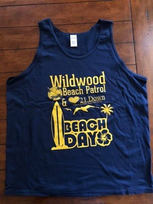 21 Down & Wildwood Beach Patrol Beach Day Tank
