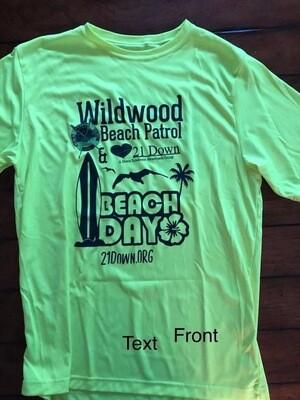 Beach Day Rash Guard- Youth  S-L