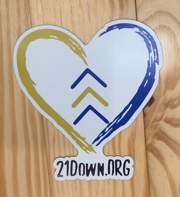21 Down, Down syndrome awareness magnet
