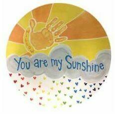 Sunshine Handprint Platter
