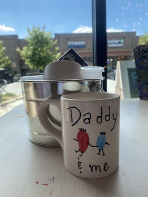 Daddy and Me Take Home Basket