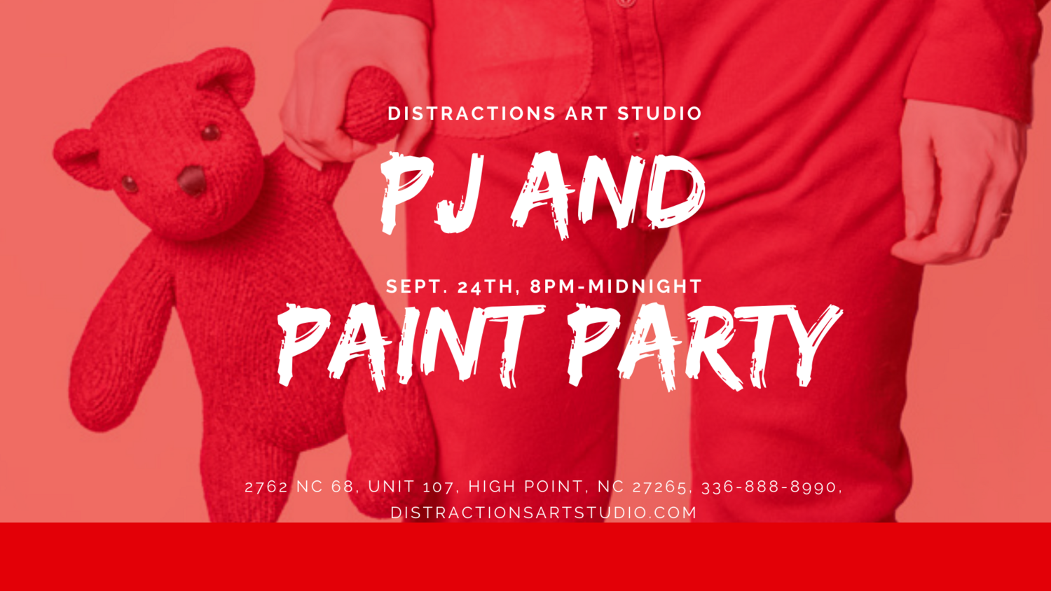 PJ and Paint Party