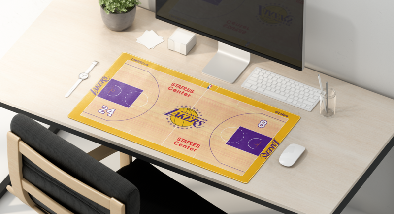 LAL Special Court Keyboard/Mouse Pad
