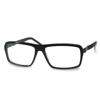 Acetate FFA 985 Black-White Stripes (58-16-140 mm)  size L