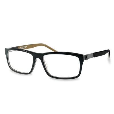 Acetate FFA 986 Black-Brown (56-16-140 mm)  size M