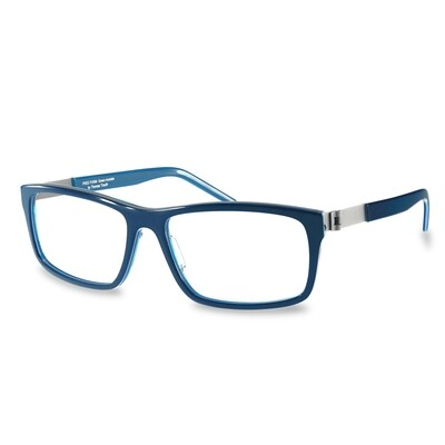 Acetate FFA 986 Dark Blue-Blue  (56-16-140 mm)  size M