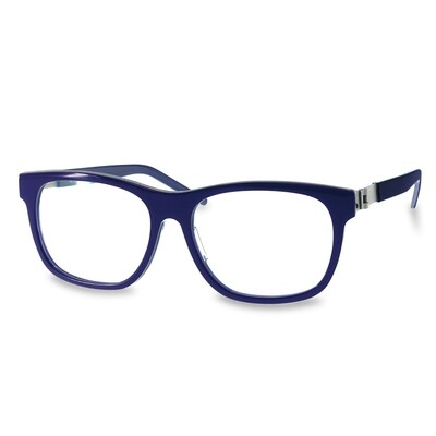 Acetate FFA983  Black-Violet   (52-15-135 mm)  size M