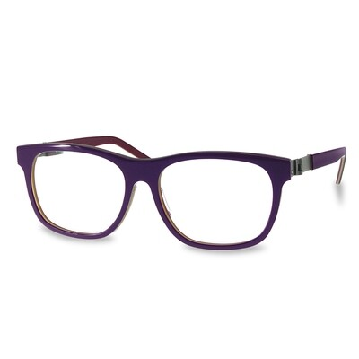 Acetate FFA983  Purple-Red   (52-15-135 mm)  size M
