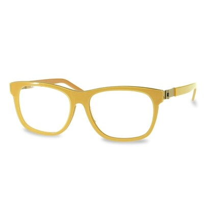 Acetate FFA983 Yellow-Honey   (52-15-135 mm)  size M