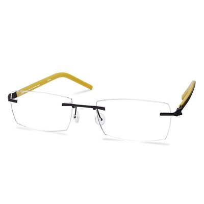 Green Rimless FFA 960 Black   (51-18-144 mm) size S