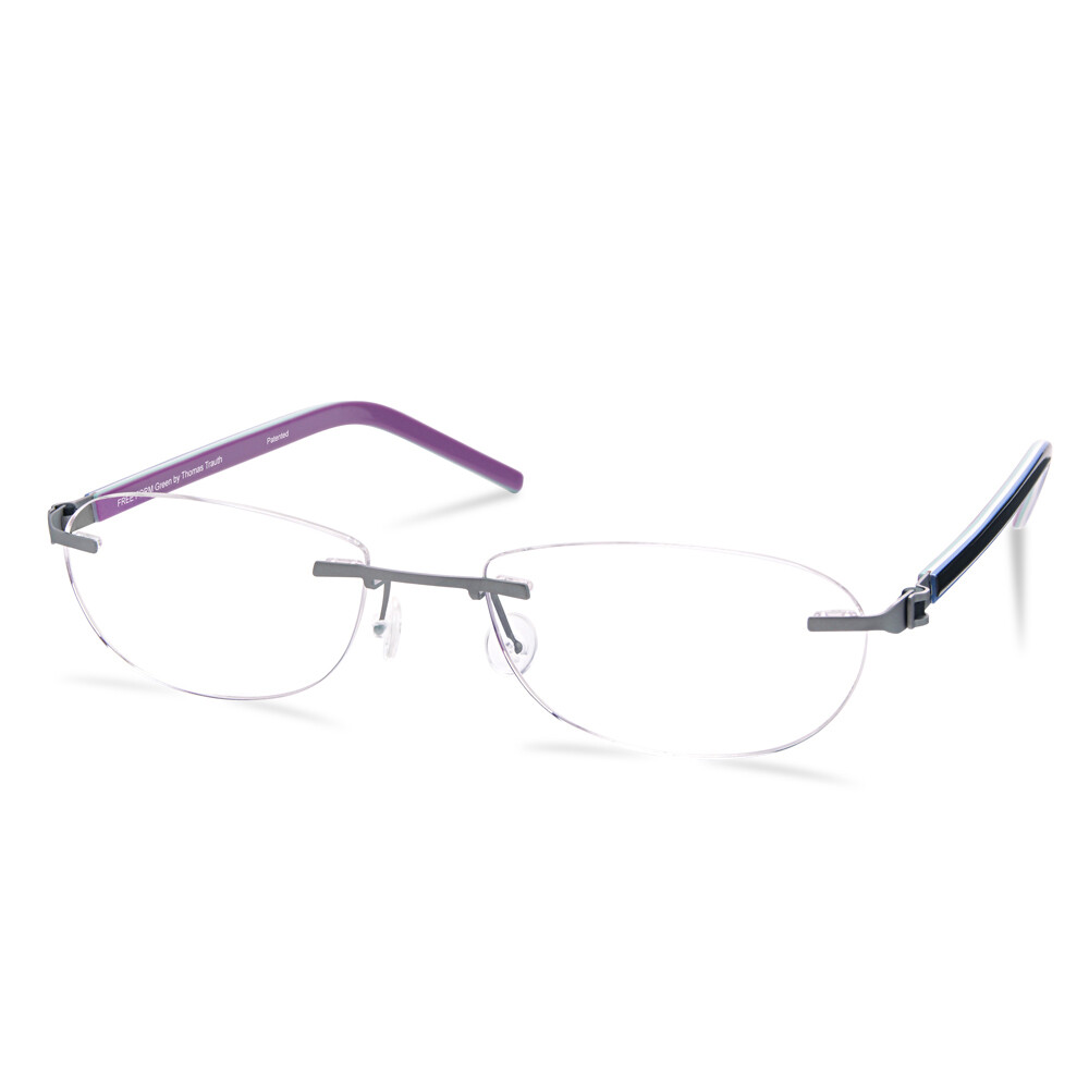 Green Rimless FFA 962 Titan  (51-17-140 mm) size S