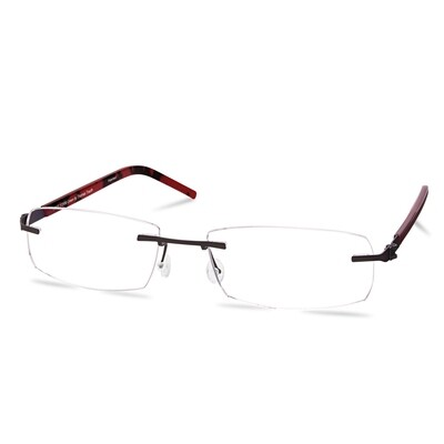 Green Rimless FFA 965 Brown (56-17-145 mm)  size M