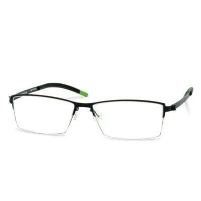 Green Semi Rim FFA 908 Black  (54-17-140 mm)  size M