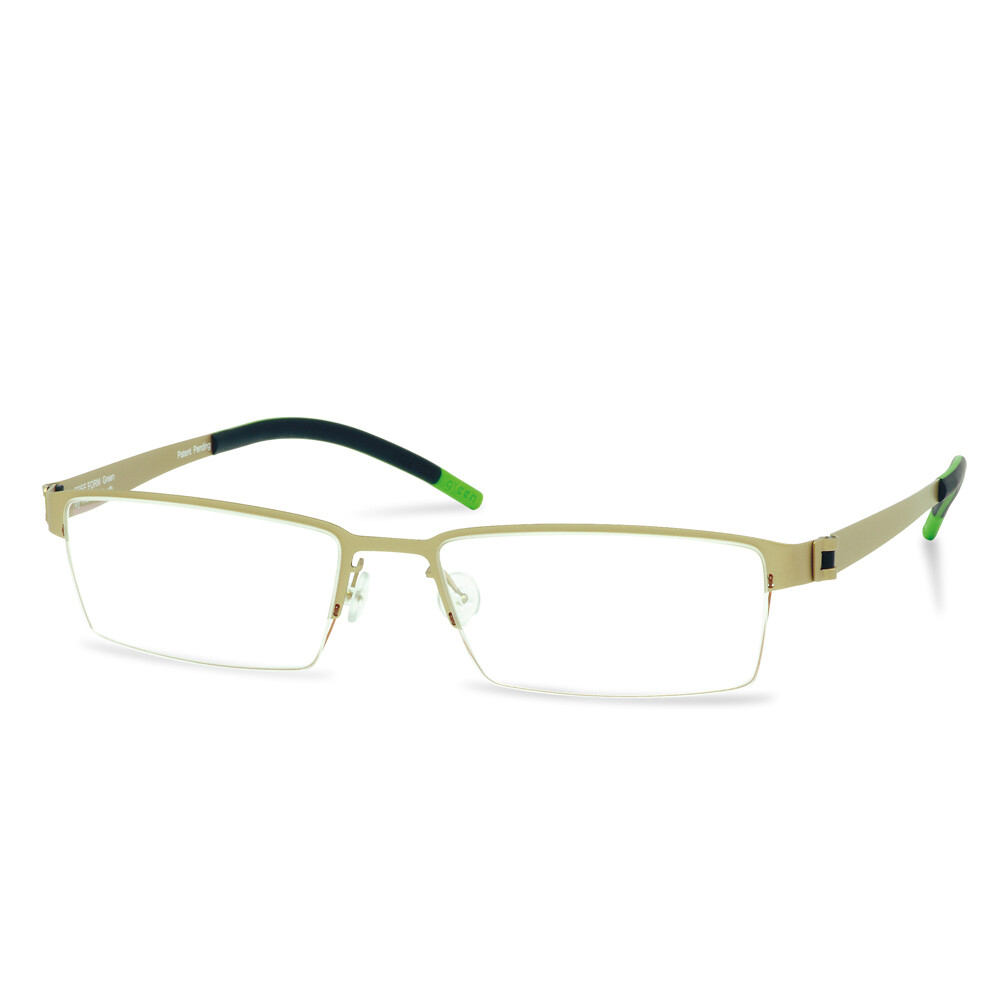 Green Semi Rim FFA 901 Gold   (54-18-140 mm)  size L