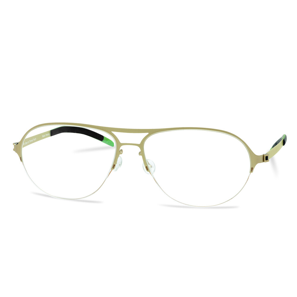 Green Semi Rim FFA 911 Gold  (59-18-140 mm) size XL