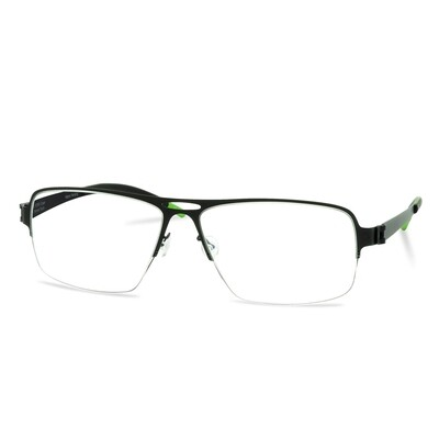 Green Semi Rim FFA 912 Black  (58-17-140 mm) size XL