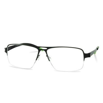 Green Semi Rim FFA 912 Black  (58-17-140 mm) size XL