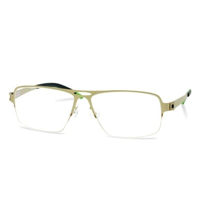 Green Semi Rim FFA 912 Gold  (58-17-140 mm) size XL