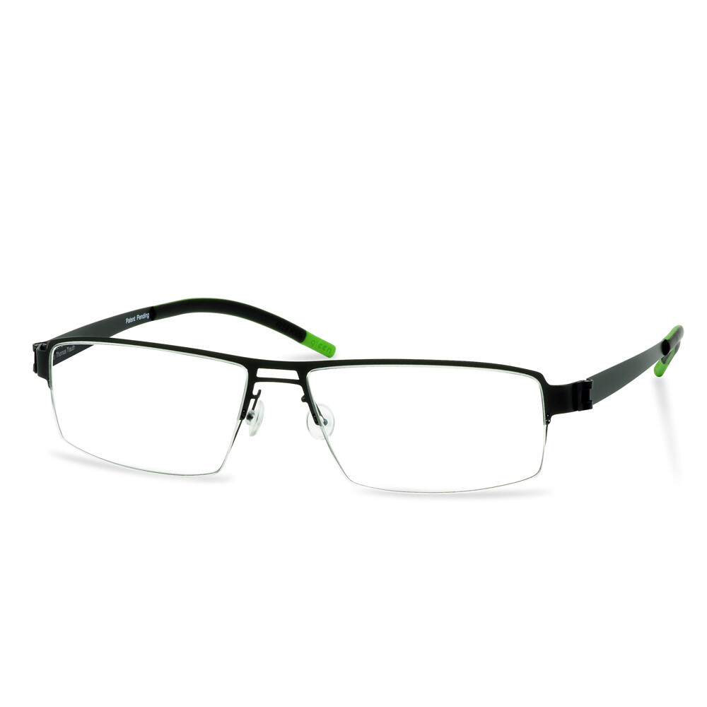 Green Semi Rim FFA 903 Black  (56-17-145 mm)  size L
