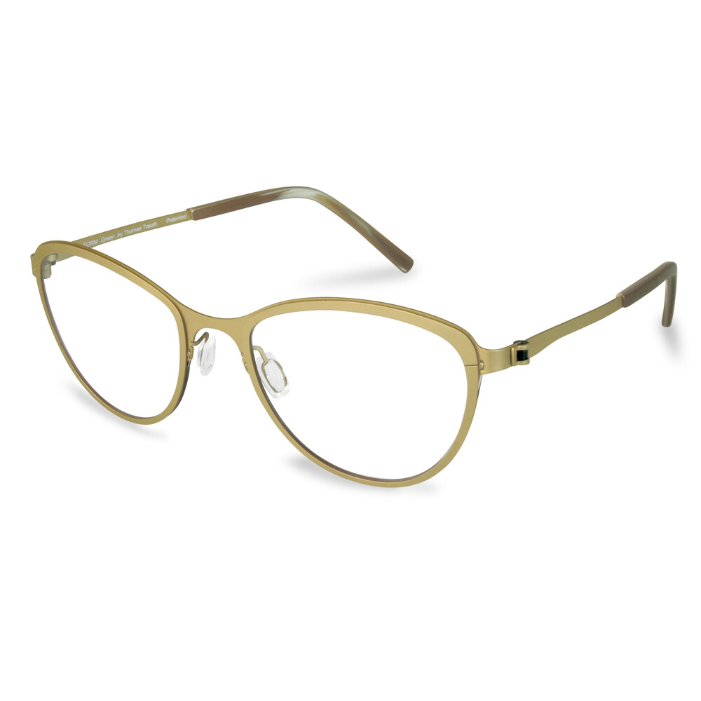 Green Full Rim FFA974L Gold   (52-19-135 mm)  size M
