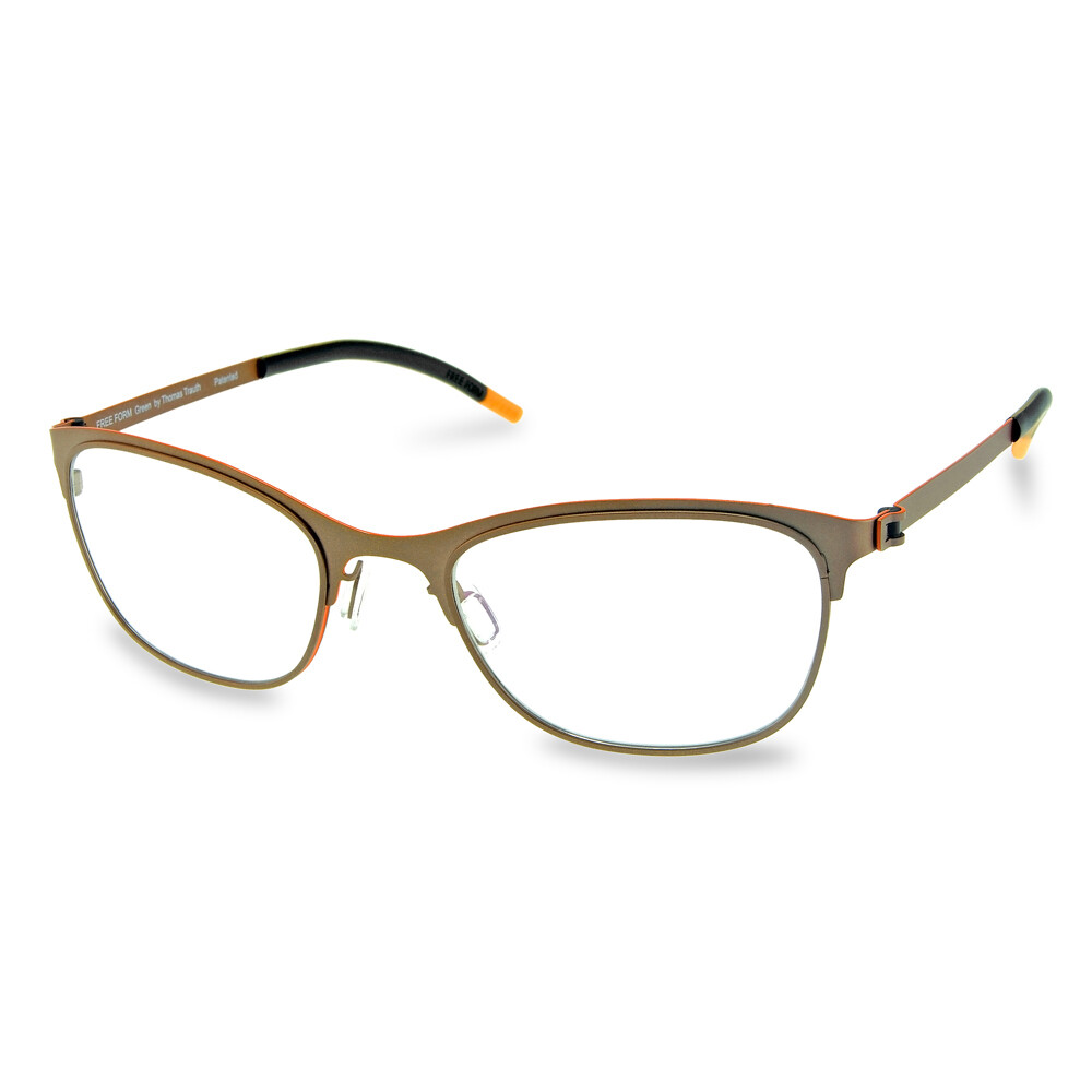 Green Full Rim FFA 922 Copper Matte  (51-20-135 mm)  size M