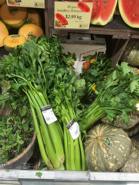 Celery Shapes