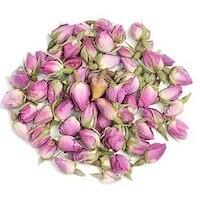 Organic pink rosebuds