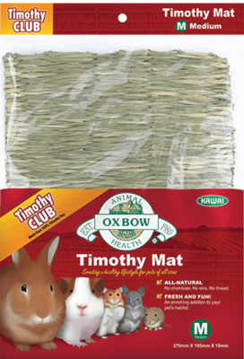 Oxbow Timothy Club Timothy Mat Large