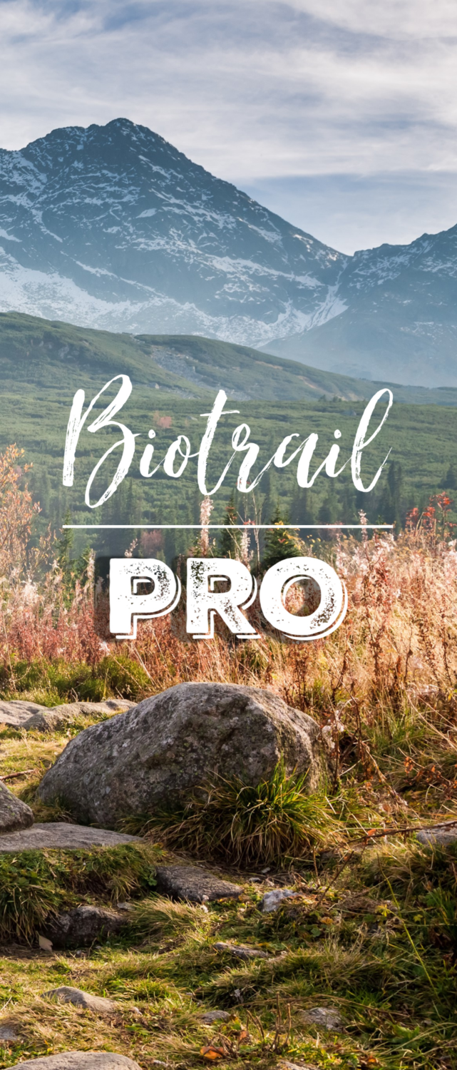 Inscription BioTrail Pro 3 trimestres