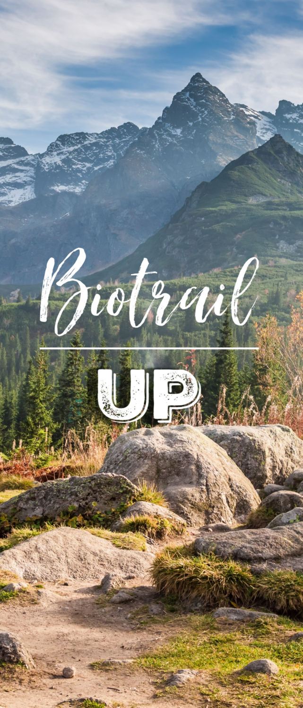 Inscription BioTrail Up 3 trimestres