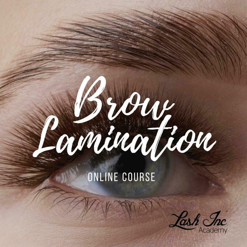 Brow Lamination  - Online